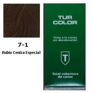 Tinte Tur 7-1 Rubio Ceniza Especial