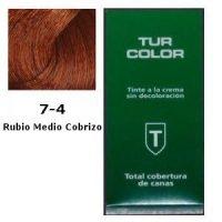 Tinte Tur 7-4 Rubio Medio Cobrizo