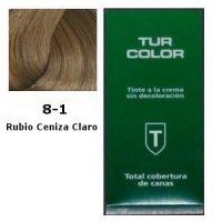 Tinte Tur 8-1 Rubio Ceniza Claro