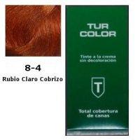 Tinte Tur 8-4 Rubio Claro Cobrizo