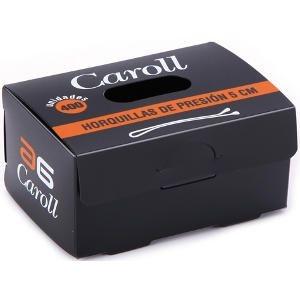 Horquillas Clip Caroll Rubio 5 cm Lisa Caja 400 Unidades AG