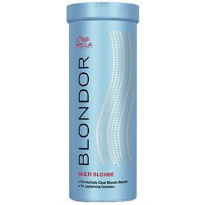 Decoloración Blondor 400gr Multi Blonde Powder Wella