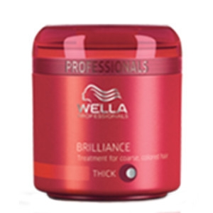 Mascarilla Brilliance Cabello Grueso Coloreado Wella Care 150ml