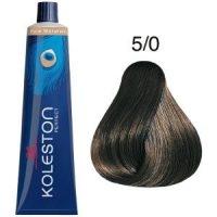 Tinte Koleston Perfect 5-0 Castaño Intenso Claro Pure Naturals 60ml Wella
