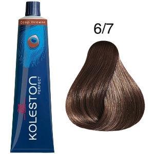 Tinte Koleston Perfect 6-7 Rubio Oscuro Marrón Deep Browns 60ml Wella
