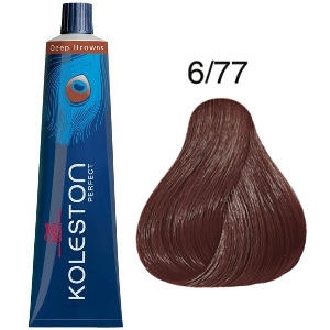 Tinte Koleston Perfect 6-77 Rubio Oscuro Marrón Intenso Deep Browns 60ml Wella