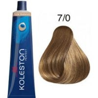 Tinte Koleston Perfect 7-0 Rubio Intenso Medio Pure Naturals 60ml Wella