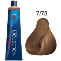 Tinte Koleston Perfect 7-73 Rubio Medio Marrón Dorado Deep Browns 60ml Wella