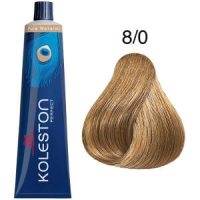 Tinte Koleston Perfect 8-0 Rubio Intenso Claro Pure Naturals 60ml Wella