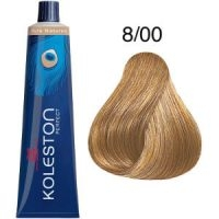 Tinte Koleston Perfect 8-00 Rubio Claro Natural Pure Naturals 60ml Wella