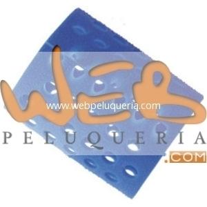 Bucle Plástico Azul Nº7 ∅48mm Docena