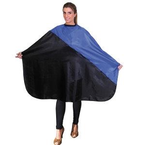 Capa Corte Azul - Negro con Velcro Eurostil