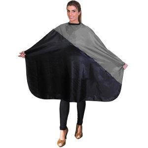 Capa Corte Gris - Negro con Velcro Eurostil
