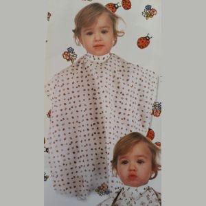 Capa Corte Infantil Mariquitas