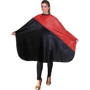 Capa Corte Rojo - Negro Velcro Eurostil