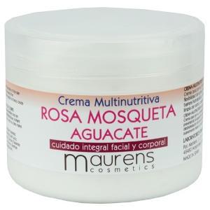Crema Multinutritiva Rosa Mosqueta Aguacate Maurens 300ml