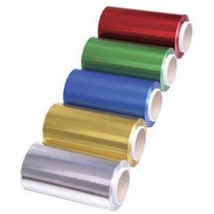 Papel Aluminio Colores