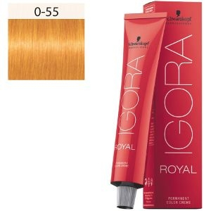 Igora Royal 0-55 Booster Mix Tono Dorado Schwarzkopf 60ml