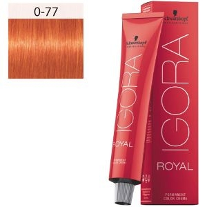 Igora Royal 0-77 Booster Mix Tono Cobrizo Schwarzkopf 60ml