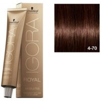 Igora Royal Absolutes 4-70 Schwarzkopf Castaño Medio Cobrizo Natural 60ml