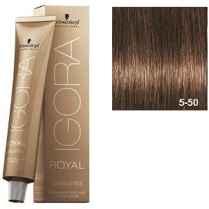 Igora Royal Absolutes 5-50 Schwarzkopf Castaño Claro Dorado Natural 60ml