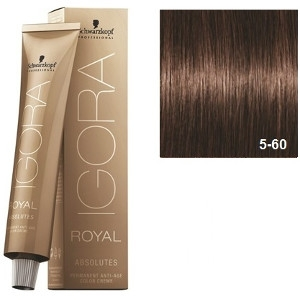 Igora Royal Absolutes 5-60 Schwarzkopf Castaño Claro Marron Natural 60ml