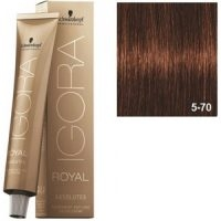 Igora Royal Absolutes 5-70 Schwarzkopf Castaño Claro Cobrizo Natural 60ml