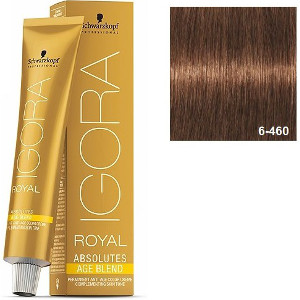 Igora Royal Absolutes 6-460 Age Blend Schwarzkopf Rubio Oscuro Beige Chocolate 60ml