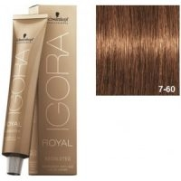 Igora Royal Absolutes 7-60 Schwarzkopf Rubio Medio Marron Natural 60ml
