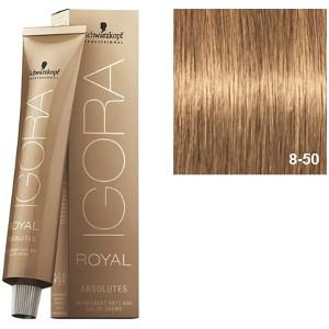 Igora Royal Absolutes 8-50 Schwarzkopf Rubio Claro Dorado Natural 60ml