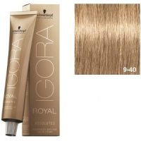 Igora Royal Absolutes 9-40 Schwarzkopf Rubio muy Claro Beige Natural 60ml