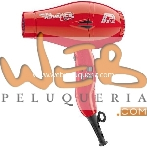 Secador Parlux Advance Rojo Light Ionic & Ceramic