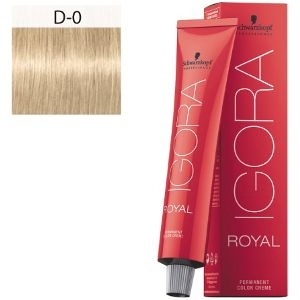 Igora Royal D-0 Schwarzkopf 60ml Extracto Natural Aclarante
