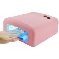 Lampara de Uñas Rosa Manicura 36W Ultravioleta