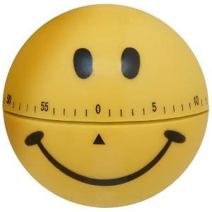 Reloj Temporizador Sonrisa Peluquería