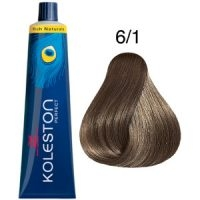 Tinte Koleston Perfect 6-1 Rubio Oscuro Ceniza Rich Naturals 60ml Wella