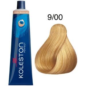 Tinte Koleston Perfect 9-00 Rubio muy Claro Natural Pure Naturals Wella 60ml
