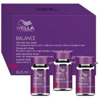 Ampollas Anticaída Wella Care Balance Loción Capilar Anti Hair Loss Serum 8 x 6ml