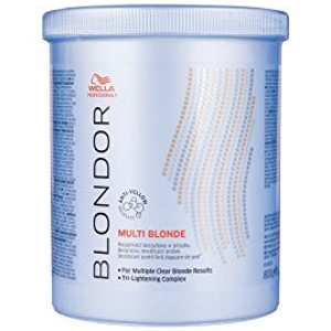 Decoloración Blondor 800gr Multi Blonde Powder Wella