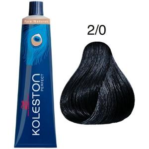 Koleston Perfect 2-0 Wella Tinte Negro Intenso Pure Naturals 60ml