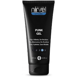 Punk Gel Fijacion Extra Fuerte Nivel 4 Nirvel Styling 200ml