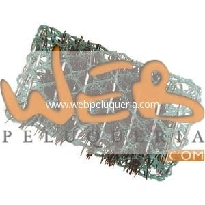 Rulo Malla 28mm Espiral Verde Docena