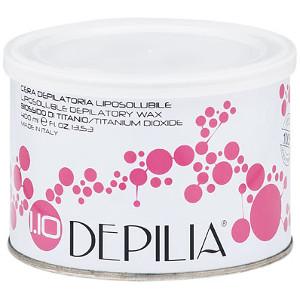 Cera Liposoluble Dióxido de Titanio Depilatoria Lata 400ml Depilia