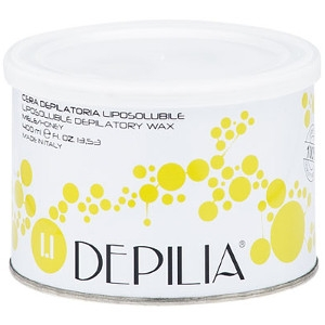 Cera Liposoluble Miel Depilatoria Lata 400ml Depilia