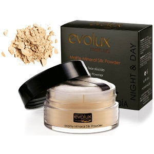 Polvo Suelto Translúcido 54 Evolux 30gr Matte Mineral Silk Powder