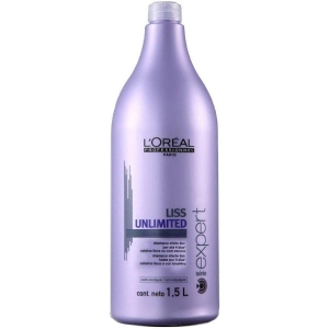 Loreal Liss Unlimited Champú Alisador Intenso 1500ml Serie Expert