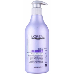 Loreal Liss Unlimited Champú Alisador Intenso 500ml Serie Expert