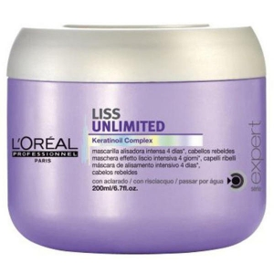 Loreal Liss Unlimited Mascarilla Alisado Intenso 200ml