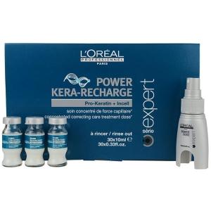 Loreal Pro-Keratin Refill Ampolla Power Kera-Recharge 30 × 10ml Serie Expert