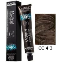 L'Oreal Tinte Majirel Cool Cover 4.3 Castaño Dorado 50ml